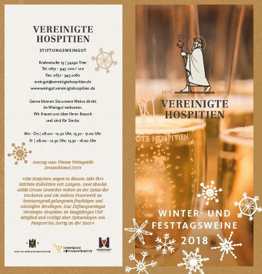 Winter - und Festtagsweine 2018