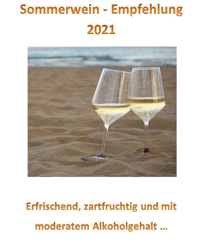 Newsletter03_2021: Unsere Sommerweine