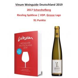 2017 Scharzhofberger Riesling Spätlese (1/2 Flasche)